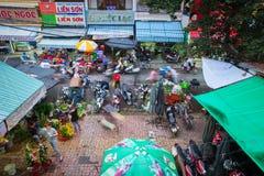 Ulicznego rynku scena, Nha trang, Wietnam Zdjęcia Royalty Free