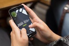 ulicznej dziewczyny strony internetowej chłodno nowożytny cyfrowy agencyjny projekt Zdjęcia Royalty Free