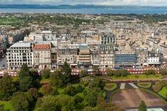 uliczni Edinburgh grodowi książe Obraz Royalty Free