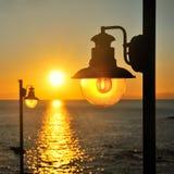 Uliczni morzy światła Obraz Royalty Free