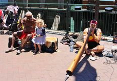 Uliczni muzycy w Sydney Fotografia Stock