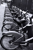Uliczni rowery Zdjęcia Royalty Free