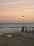 uliczny światło słońca Zdjęcia Royalty Free