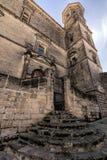 Uliczny Arco De Las Escuelas, Baeza, Hiszpania Zdjęcie Stock