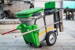Uliczny cleaner Zdjęcie Stock