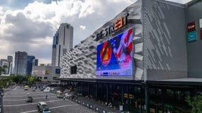 Uliczny fasion centrum handlowe Zdjęcie Royalty Free