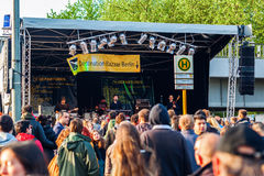 Uliczny festiwal w Kreuzberg, Berlin Obrazy Royalty Free