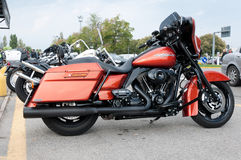 Uliczny Harley Sunięcie Davidson 103 Zdjęcie Stock