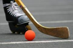 Uliczny hokej -1 Zdjęcia Stock