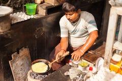 Uliczny jedzenie, Kolkata Zdjęcia Stock