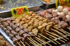 Uliczny jedzenie, noc rynek żadny 2 Fotografia Royalty Free