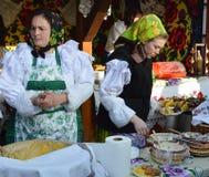 Uliczny jedzenie od Maramures, Rumunia Zdjęcie Stock