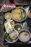 Uliczny jedzenie przy Ubud, Bali Tradycyjny Jawny rynek Fotografia Stock