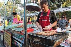 Uliczny jedzenie w Azja Zdjęcie Stock