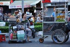 Uliczny jedzenie w Azja Vietnam Mekong delta Obraz Stock