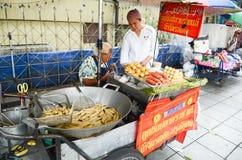Uliczny jedzenie w Bangkok Obraz Royalty Free