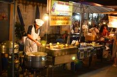 Uliczny jedzenie w Bangkok Zdjęcie Stock