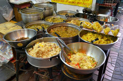 Uliczny jedzenie w Chinatown Bangkok Zdjęcia Stock
