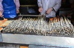 Uliczny jedzenie w Chiny Zdjęcia Stock