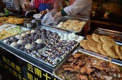 Uliczny jedzenie w Chiny Fotografia Stock