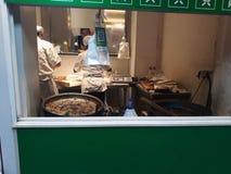 Uliczny jedzenie w Szanghaj obrazy stock