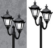 Uliczny lampion Zdjęcia Royalty Free