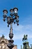 Uliczny lampion w Drezdeńskim obrazy stock