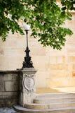 Uliczny lampion w parku Fotografia Stock
