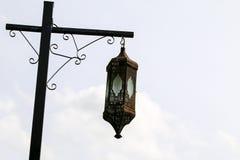 Uliczny lamppost Fotografia Stock