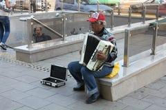 Uliczny muzyk zdjęcia stock