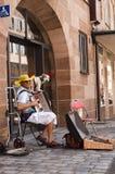 Uliczny muzyk Zdjęcie Stock
