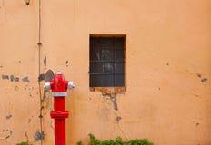 Uliczny pożarniczy hydrant Obrazy Royalty Free