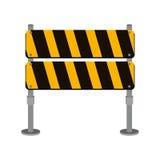 Uliczny ruch drogowy bariery ikony projekt Zdjęcie Stock