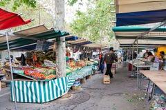 Uliczny rynek owoc i warzywo Obraz Stock