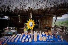 Uliczny rynek, Puerto Cayo, nabrzeżny ecuadorian Zdjęcie Royalty Free
