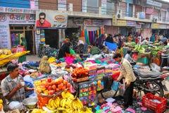 Uliczny rynek w Agra, Uttar Pradesh, India Fotografia Stock