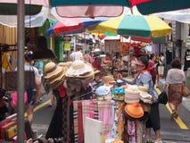 Uliczny rynek w Busan, Południowy Korea Obrazy Stock