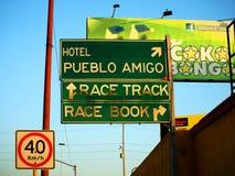 Uliczny Signage przy Tijuana Meksyk Obraz Royalty Free