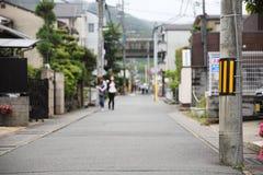 Uliczny sposób w Japan obraz stock