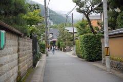 Uliczny sposób w Japan zdjęcia stock