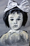 Uliczny sztuki dziecko Zdjęcia Stock
