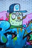 Uliczny sztuki Montreal obcy Obrazy Stock