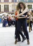 Uliczny tancerz Obraz Stock