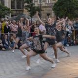 Uliczny teatru festiwal w Krakow Obraz Stock