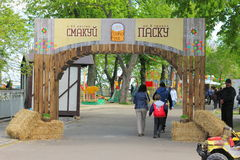 Uliczny wakacje Wielkanocny festiwal Zdjęcia Stock