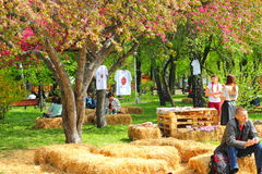 Uliczny wakacje Wielkanocny festiwal Zdjęcie Stock