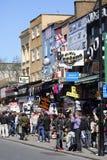 Uliczny widok Camden rynek Zdjęcia Royalty Free