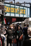 Uliczny widok Camden rynek Zdjęcia Stock