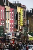 Uliczny widok Camden rynek Obrazy Stock