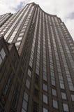 Uliczny widok drapacz chmur w Miasto Nowy Jork obraz royalty free